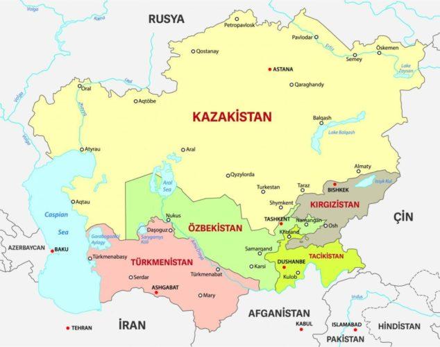 ABD'nin Yeni Orta Asya Stratejisinin İpuçları
